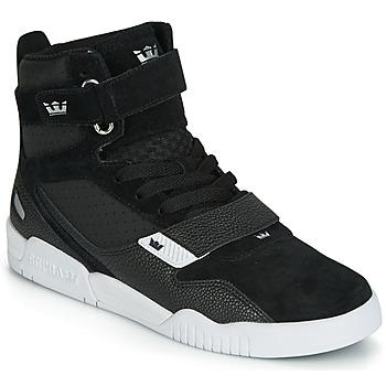 Chaussures Homme Baskets montantes Supra BREAKER Noir