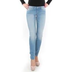 Vêtements Femme Jeans skinny Wrangler Caitlin Blue Baloo W24CH145X niebieski