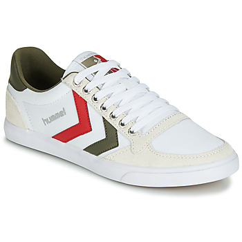 Chaussures Baskets basses Hummel SLIMMER STADIL LOW Blanc