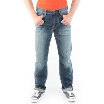 Vêtements Homme Jeans droit Guess Ventura M21078D4G01 MARK granatowy