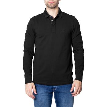 Vêtements Homme Polos manches longues EAX 8NZF79 ZJ81Z Noir