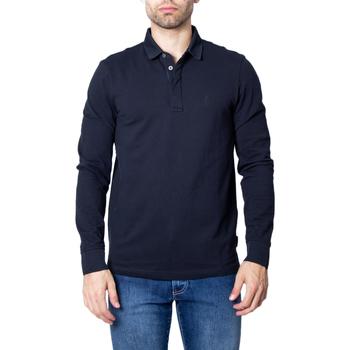 Vêtements Homme Polos manches longues EAX 8NZF79 ZJ81Z bleu