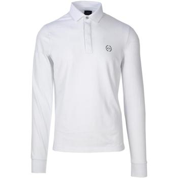 Vêtements Homme Polos manches longues Armani Exchange 8NZF79 ZJ81Z Blanc