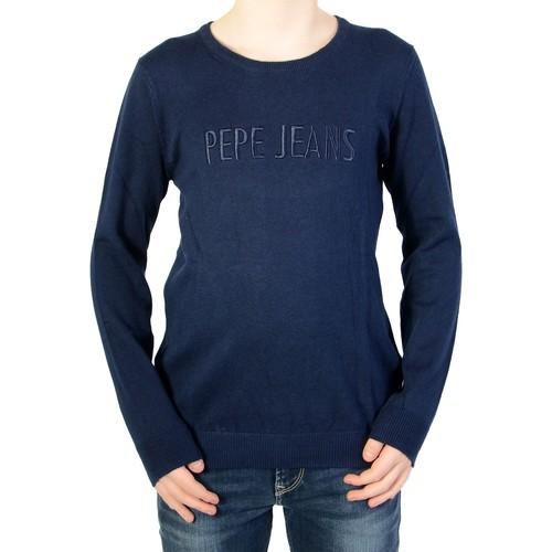 024773e3278 Pepe jeans Pull Enfant Raymond Bleu - Livraison Gratuite avec ...