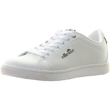 Chaussures Homme Baskets basses Ellesse Chaussures Sportswear Homme  Stan Cassis White Tan Blanc