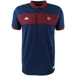 Vêtements Homme Polos manches courtes Canterbury Polo rugby Union Bordeaux Bègl Rouge