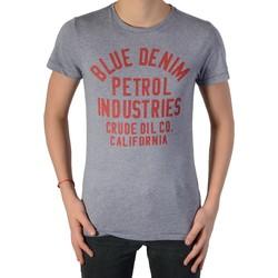 Vêtements Garçon T-shirts manches courtes Petrol Industries T shirt Gris