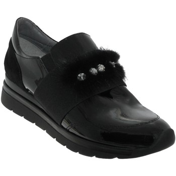 Chaussures Femme Mocassins Folies Magic Noir vernis