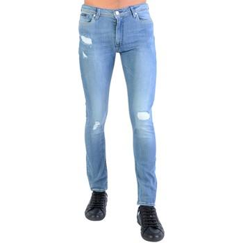 Vêtements Garçon Jeans slim Kaporal Jeans  Enfant Xilo Bleu