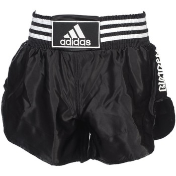 Vêtements Homme Shorts / Bermudas Doubled Adidas Short noir/blc boxe thai Noir