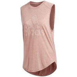 Vêtements Femme Débardeurs / T-shirts sans manche adidas Originals Winners Muscle Rose