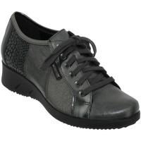 Chaussures Femme Derbies Mephisto Melina Gris cuir