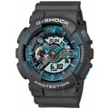 Casio Montre  G-Shock Grise & Turquoise Oversize GA-110TS-8A2ER GA-110