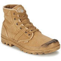 Chaussures Homme Boots Palladium PALLABROUSSE Beige / Moutarde