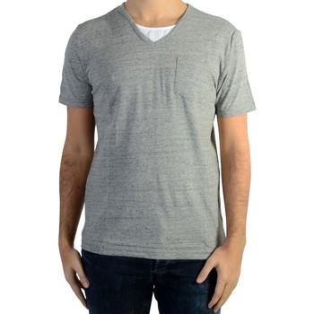 Vêtements Homme T-shirts manches courtes Kaporal Tee Shirt Ciao Gris