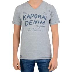 Vêtements Garçon T-shirts manches courtes Kaporal Tee Shirt  Enfant Moxi Gris