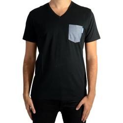 Vêtements Homme T-shirts manches courtes Kaporal Givar Noir 1