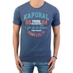 Vêtements Garçon T-shirts manches courtes Kaporal Tee-Shirt Enfant Renj Bleu