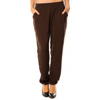 Vêtements Femme Pantalons de survêtement Dress Code Pantalon R9771 Marron Marron