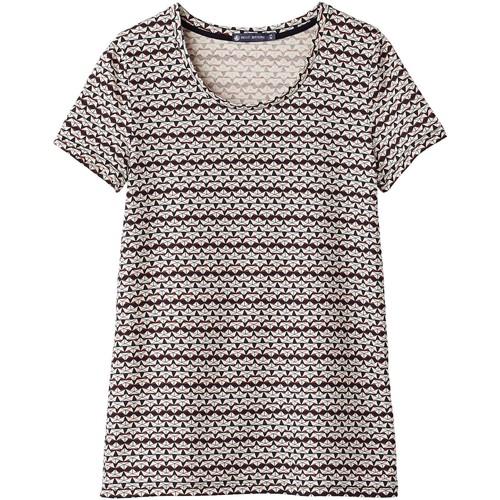 Vêtements Femme T-shirts manches courtes Petit Bateau Tee Shirt MC 1062072220 Multicolor Multicolor