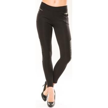 Vêtements Femme Leggings Comme Des Filles Comme Des Garçons Pantalon Clara's 9108 Noir Noir