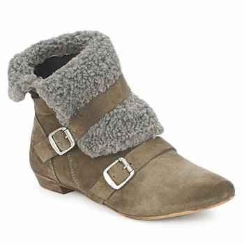 Bottines / Boots Bronx CREPOU Marron / Gris 350x350