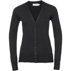 Vêtements Femme Gilets / Cardigans Russell Gilet BC1013 Noir