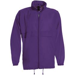 Vêtements Homme Coupes vent B And C JU800 Violet