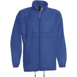Vêtements Homme Coupes vent B And C Sirocco Bleu royal