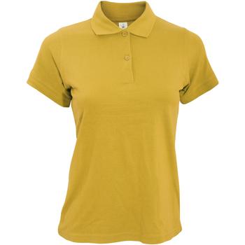 Vêtements Femme Polos manches courtes B And C PW455 Jaune