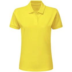 Vêtements Garçon Polos manches courtes Sg SG59K Jaune