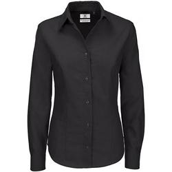 Vêtements Femme Chemises / Chemisiers B And C Oxford Noir
