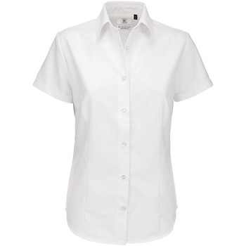 Vêtements Femme Chemises / Chemisiers B And C Oxford Blanc