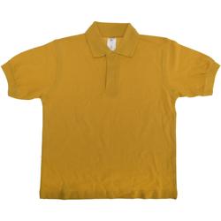 Vêtements Enfant Polos manches courtes B And C PK486 Or