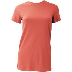 Vêtements Femme T-shirts manches courtes Bella + Canvas BE6004 Corail