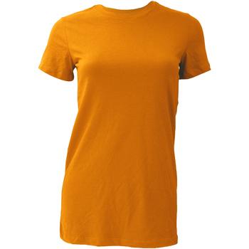 Vêtements Femme T-shirts manches courtes Bella + Canvas BE6004 Orange