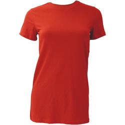 Vêtements Femme T-shirts manches courtes Bella + Canvas BE6004 Rouge