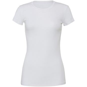 Vêtements Femme T-shirts manches courtes Bella + Canvas BE6004 Blanc