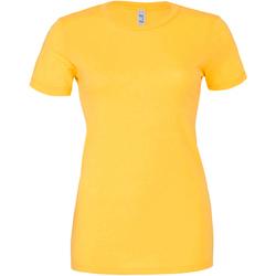 Vêtements Femme T-shirts manches courtes Bella + Canvas BE6004 Jaune