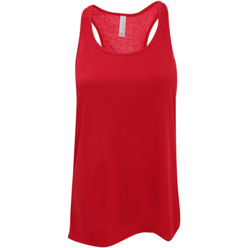 Vêtements Femme Débardeurs / T-shirts sans manche Bella + Canvas Flowy Rouge