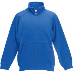 Vêtements Enfant Vestes de survêtement Fruit Of The Loom 62005 Bleu royal