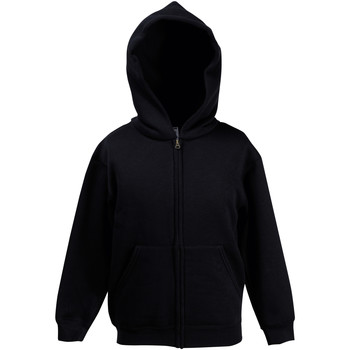 Vêtements Garçon Sweats Fruit Of The Loom Hooded Noir