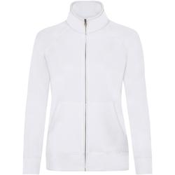 Vêtements Femme Polaires Fruit Of The Loom 62116 Blanc