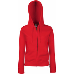 Vêtements Femme Sweats Fruit Of The Loom Hooded Rouge