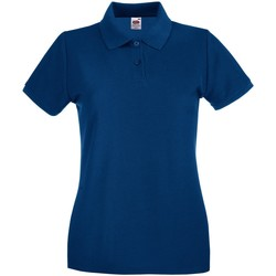 Vêtements Femme Polos manches courtes Fruit Of The Loom Premium Bleu marine