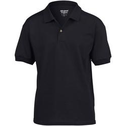 Vêtements Enfant Polos manches courtes Gildan 8800B Noir