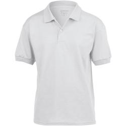 Vêtements Enfant Polos manches courtes Gildan 8800B Blanc
