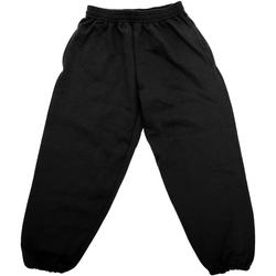 Vêtements Enfant Pantalons de survêtement Jerzees Schoolgear 750B Noir