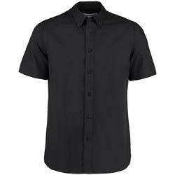 Vêtements Homme Chemises manches courtes Kustom Kit Business Noir