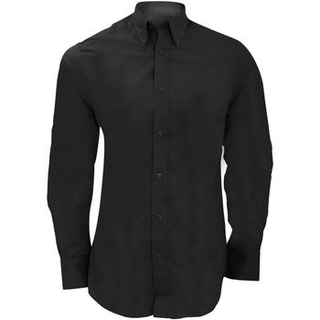Vêtements Homme Chemises manches longues Kustom Kit Business Noir